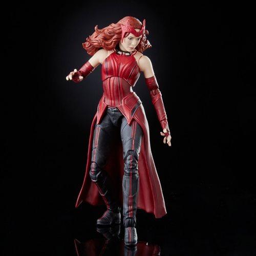PRÉ VENDA: Action Figure Feiticeira Escarlate Biuld A Figure Falcão Disney Plus Marvel Legends Series - Hasbro