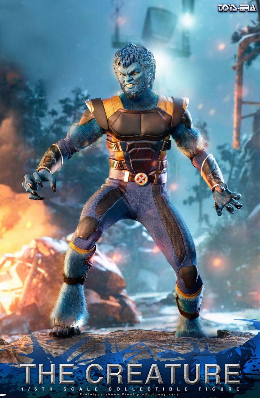 PRÉ-VENDA Action Figure Fera (Beast): X-Men Fênix Negra (Boneco Colecionável) Escala 1/6 - Toys Era