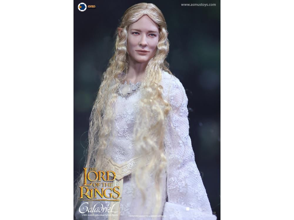 Action Figure Galadriel: Senhor dos Anéis Lord Of The Rings Escala 1/6 - Asmus Toys - MKP