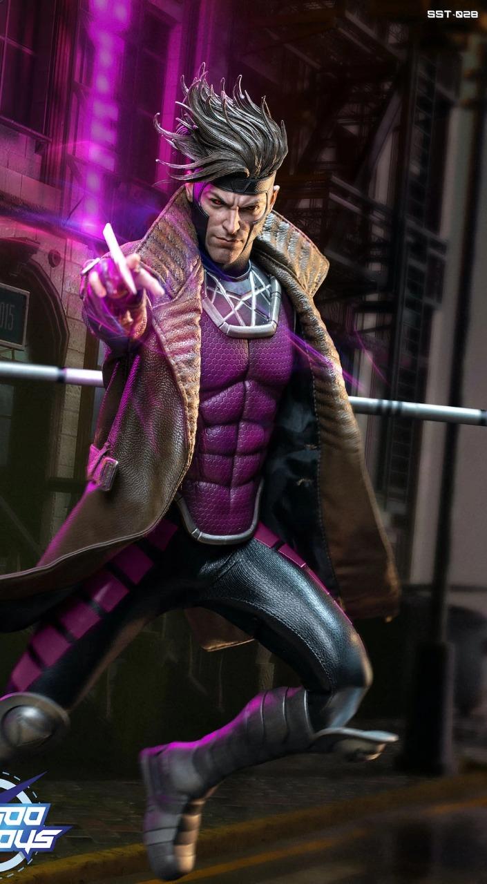 Action Figure Gambit X-Men Marvel Escala 1/6 SST028  - Soosoo Toys - EV