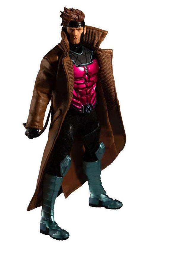 PRÉ-VENDA Action Figure Gambit: X-Men (One:12 Collective) Escala 1/12 - Boneco Colecionável - Mezco