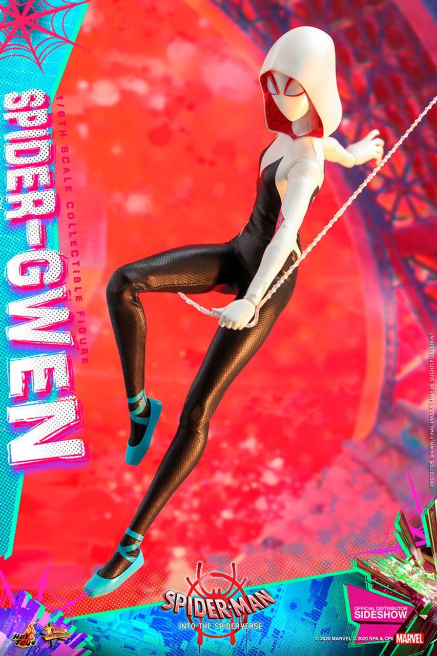 PRÉ VENDA Action Figure Gwen-Aranha (Spider-Gwen): Homem-Aranha No Aranhaverso (Spider-Man: Into the Spider-Verse) Escala 1/6 - Hot Toys