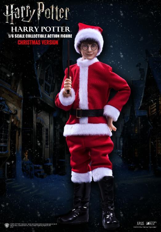 PRÉ VENDA: Action Figure Harry Potter: Harry Potter e a Pedra Filosofal (Sorcerer's Stone) Christmas Ver. (Escala 1/6) - Star Ace
