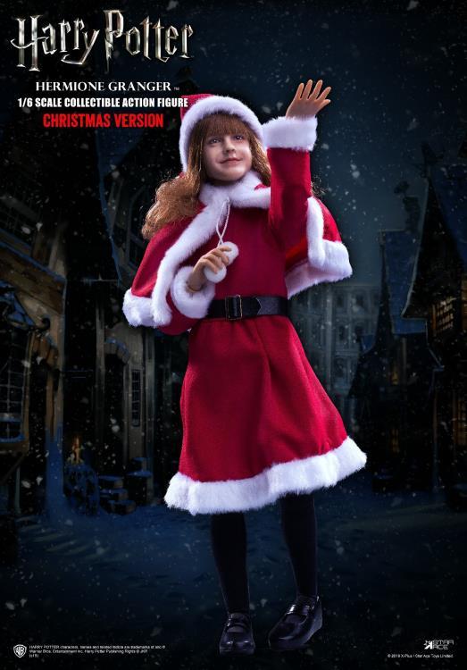 PRÉ VENDA: Action Figure Hermione Granger: Harry Potter e a Pedra Filosofal (Sorcerer's Stone) Christmas Ver. (Escala 1/6) - Star Ace