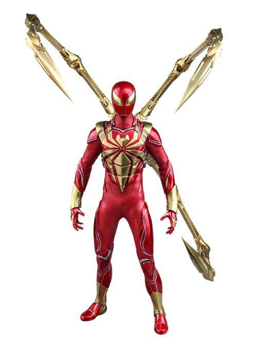 PRÉ-VENDA Action Figure Homem-Aranha (Iron Spider Armor): Marvel's Spider-Man (PS4) VGM38 (Escala 1/6) - Hot Toys