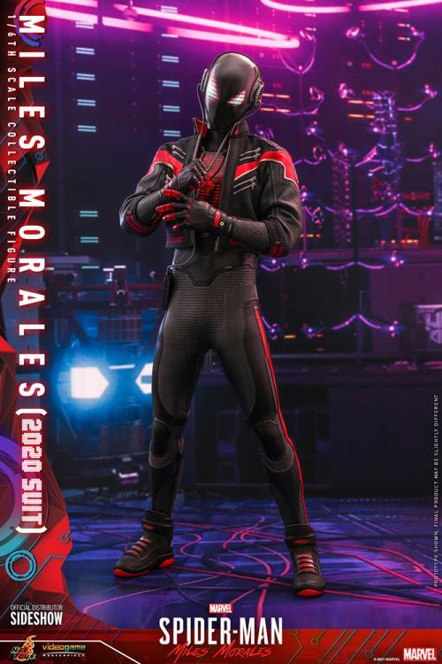 PRÉ VENDA: Action Figure Homem Aranha Spider-Man: Miles Morales VGM49 Miles Morales 2020 Suit Escala 1/6 - Hot Toys