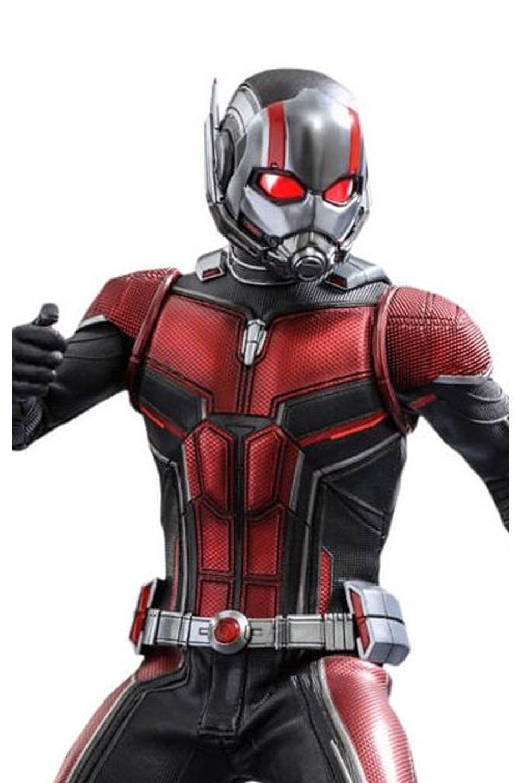 Action Figure Homem-Formiga (Ant-Man): Homem-Formiga e a Vespa (Ant-Man and the Wasp) MMS497 (Escala 1/6) - Hot Toys