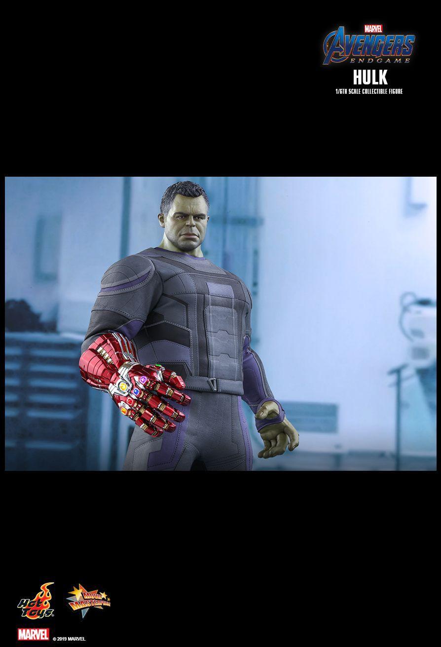 PRÉ VENDA: Action Figure Hulk: Vingadores Ultimato (Avengers Endgame) Boneco Colecioável (MMS558) Escala 1/6 - Hot Toys