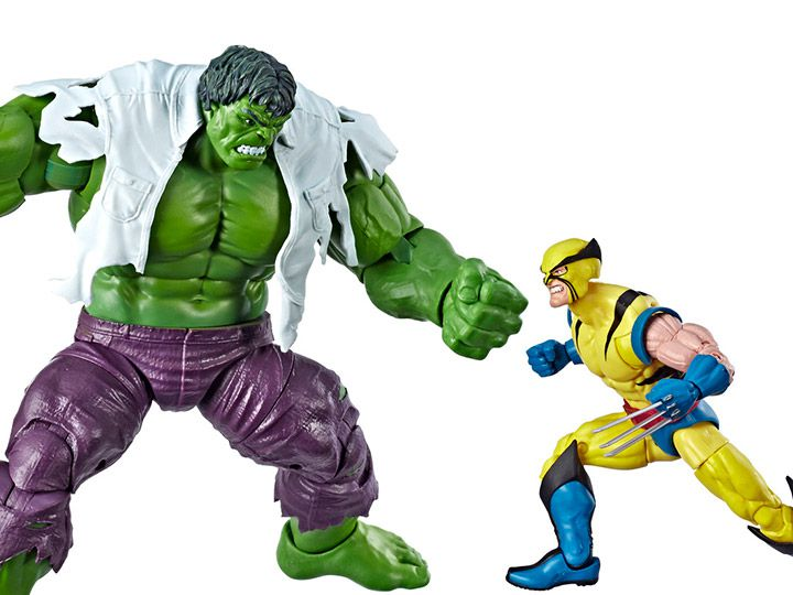 Action Figure Hulk Vs Wolverine: Marvel Legends (80th Anniversary) Marvel (Pack de 2) Boneco Colecionável - Hasbro