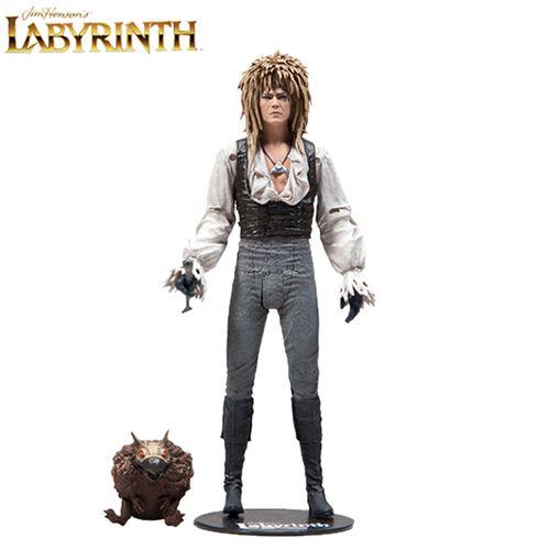 """Action Figure Jareth 7"""": Labirinto - A Magia do Tempo (Labyrinth) Magic Dance Version - Boneco Colecionável - Mcfarlane Toys (Apenas Venda Online)"""