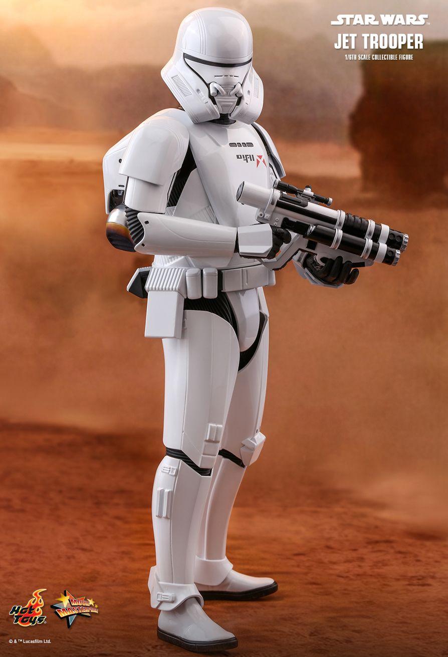 PRÉ VENDA: Action Figure Jet Trooper: Star Wars A Ascensão Skywalker (The Rise of Skywalker) MMS561 (Escala 1/6) - Hot Toys