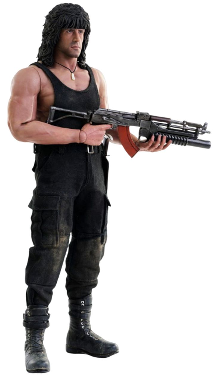 PRÉ-VENDA Action Figure John Rambo: Rambo lll (Boneco Colecionável) Escala 1/6 - Threezero