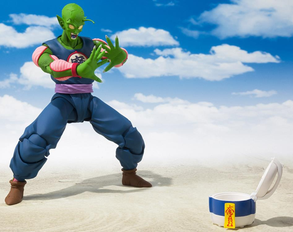 Action Figure King Piccolo: Dragon Ball (S.H.Figuarts) Boneco Colecionável - Bandai