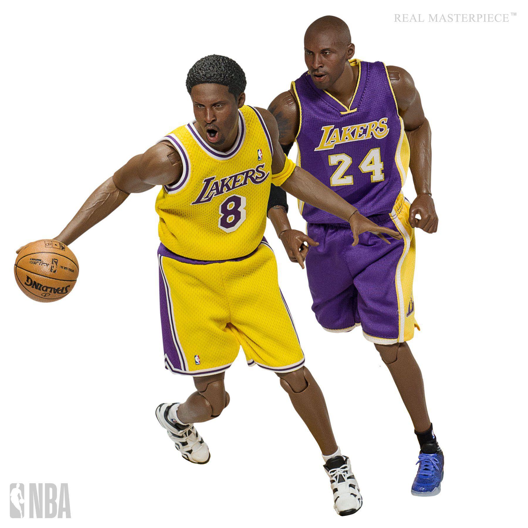 PRÉ VENDA: Action Figure Kobe Bryant (New Upgraded Re-Edition): LA Lakers (NBA Collection) Real Masterpiece (Escala 1/6) - Enterbay
