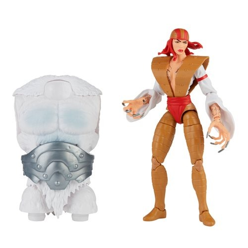 PRÉ VENDA: Action Figure Lady Letal Super Villains Super Vilões Biuld A Figure Xemnu Marvel Legends Series - Hasbro