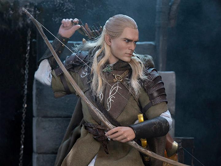 PRÉ VENDA: Action Figure Legolas at Helm's Deep: Senhor dos Anéis: As Duas Torres The Lord of the Rings: The Lord Of The Rings Escala 1/6 - Asmus Toys