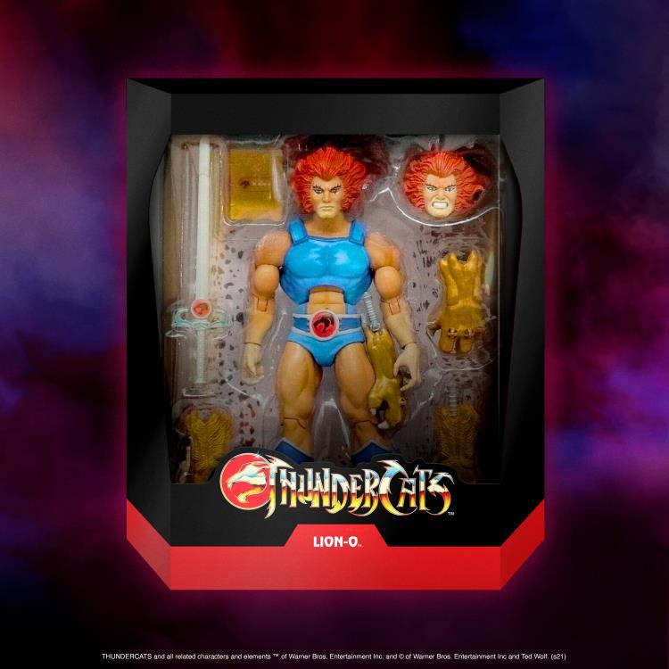 PRÉ VENDA: Action Figure Lion-O: ThunderCats Ultimates (Ver. 2) - Super7