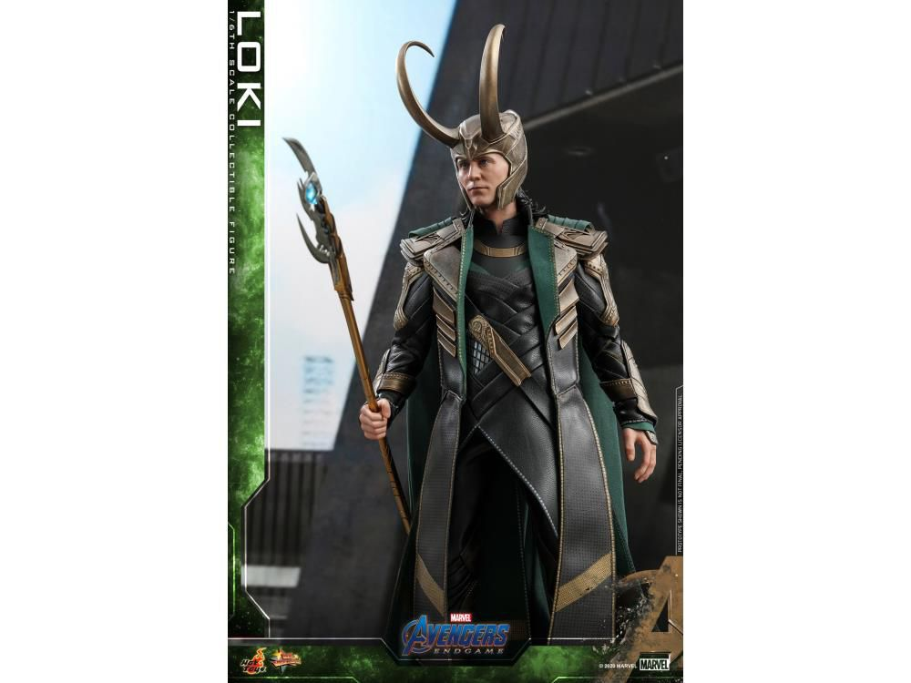 PRÉ VENDA: Action Figure: Loki: Vingadores Ultimato (Avengers Endgame) Marvel (Escala 1/6) MMS579 - Hot Toys