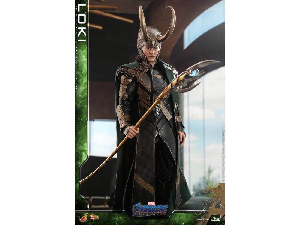 PRÉ VENDA: Action Figure: Loki: Vingadores Ultimato (Avengers Endgame) Marvel (Escala 1/6) MMS579 - Hot Toys