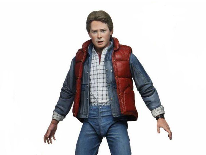 Action Figure Marty McFly (Ultimate): De Volta Para o Futuro (Back To The Future) - Neca