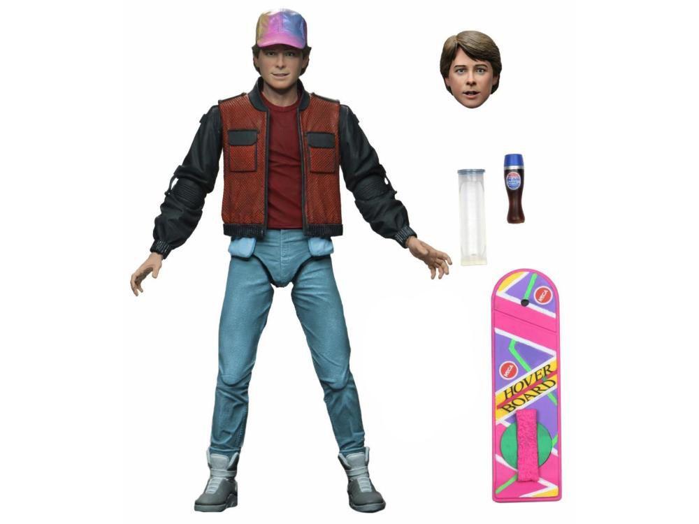 Action Figure Marty McFly (Ultimate): De Volta Para o Futuro (Parte 2) (Back To The Future) - Neca