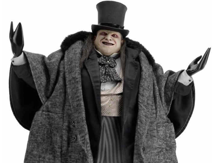 PRÉ VENDA: Action Penguim Figure Mayoral Penguin Batman O Retorno Returns: DC Comics  Escala 1/4 - NECA