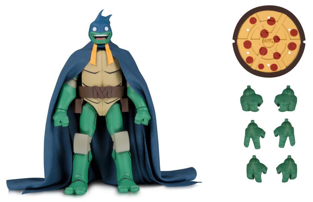Action Figure Michelangelo (Batman): Batman vs. Teenage Mutant Ninja Turtles (SDCC 2019 Exclusivo) Boneco Colecionável - DC Collectibles (Apenas Venda Online)