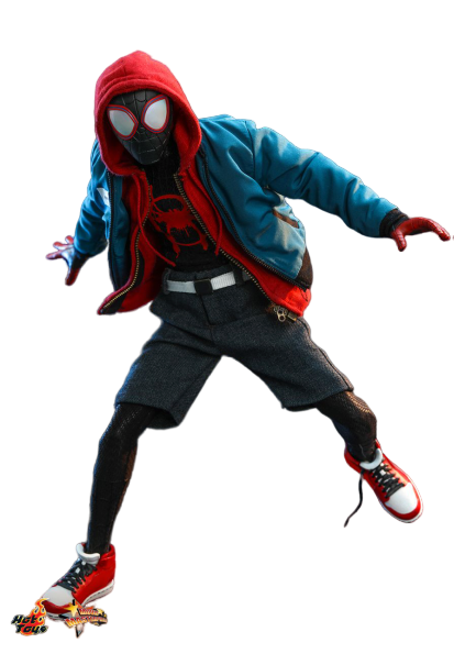 PRÉ VENDA: Action Figure Miles Morales: Homem-Aranha No Aranhaverso (Spider-Man Into the Spider-Verse) Escala 1/6 (MMS567) - Hot Toys
