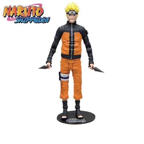 "Action Figure Naruto Uzumaki 7"": Naruto Shippuden - Boneco Colecionável - Mcfarlane Toys (Apenas Venda Online)"