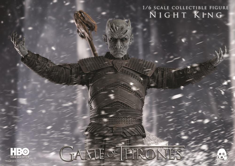 PRÉ VENDA: Action Figure Night King: Game of Thrones (Escala 1/6) Boneco Colecionável - Threezero