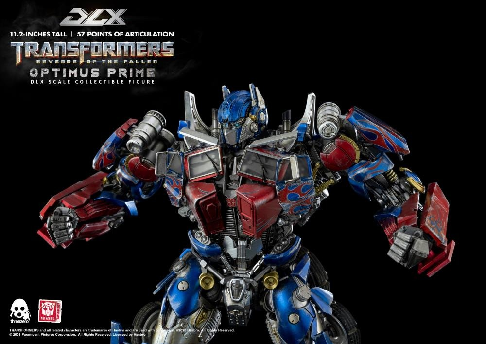 PRÉ VENDA: Action Figure Optimus Prime Transformers Revenge of the Fallen DLX Escala 1/6 - Threezero