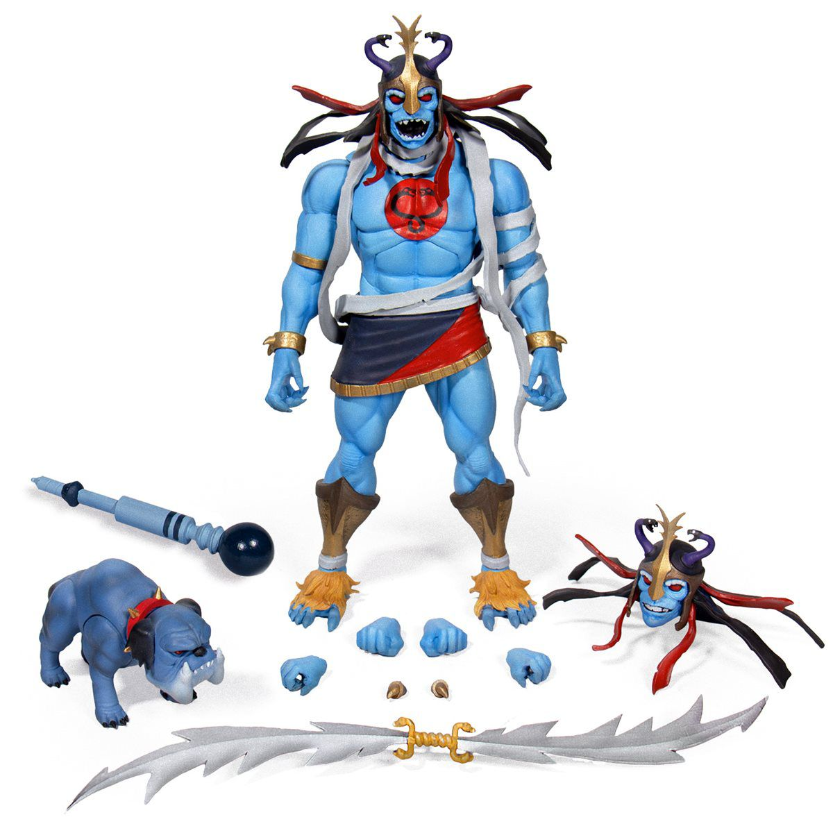 PRÉ-VENDA Action Figure Pack Mumm-Ra the Ever-Living & Ma-Mutt: Thundercats (Boneco Colecionável) - Super7