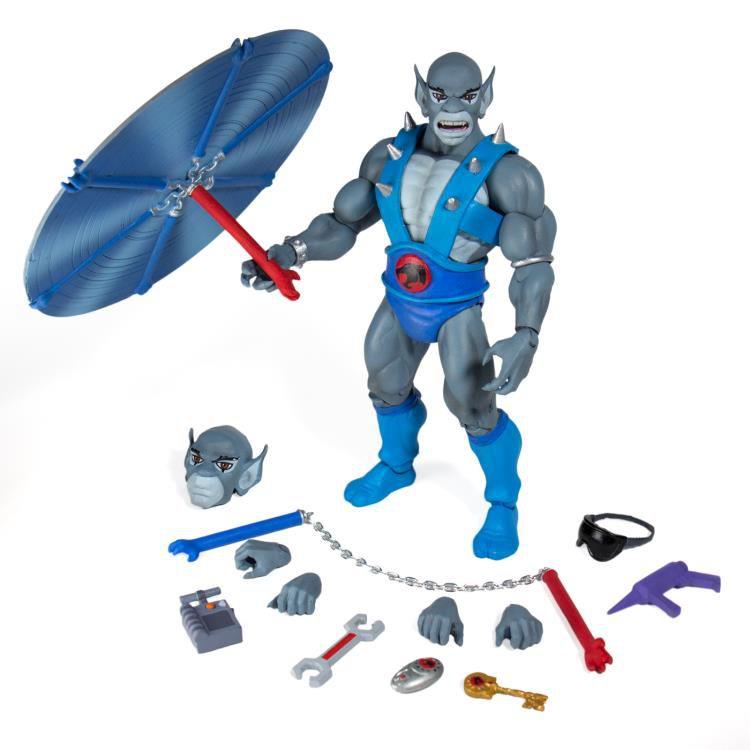PRÉ VENDA: Action Figure Panthro (Ultimate): Thundercats (Boneco Colecionável) - Super7