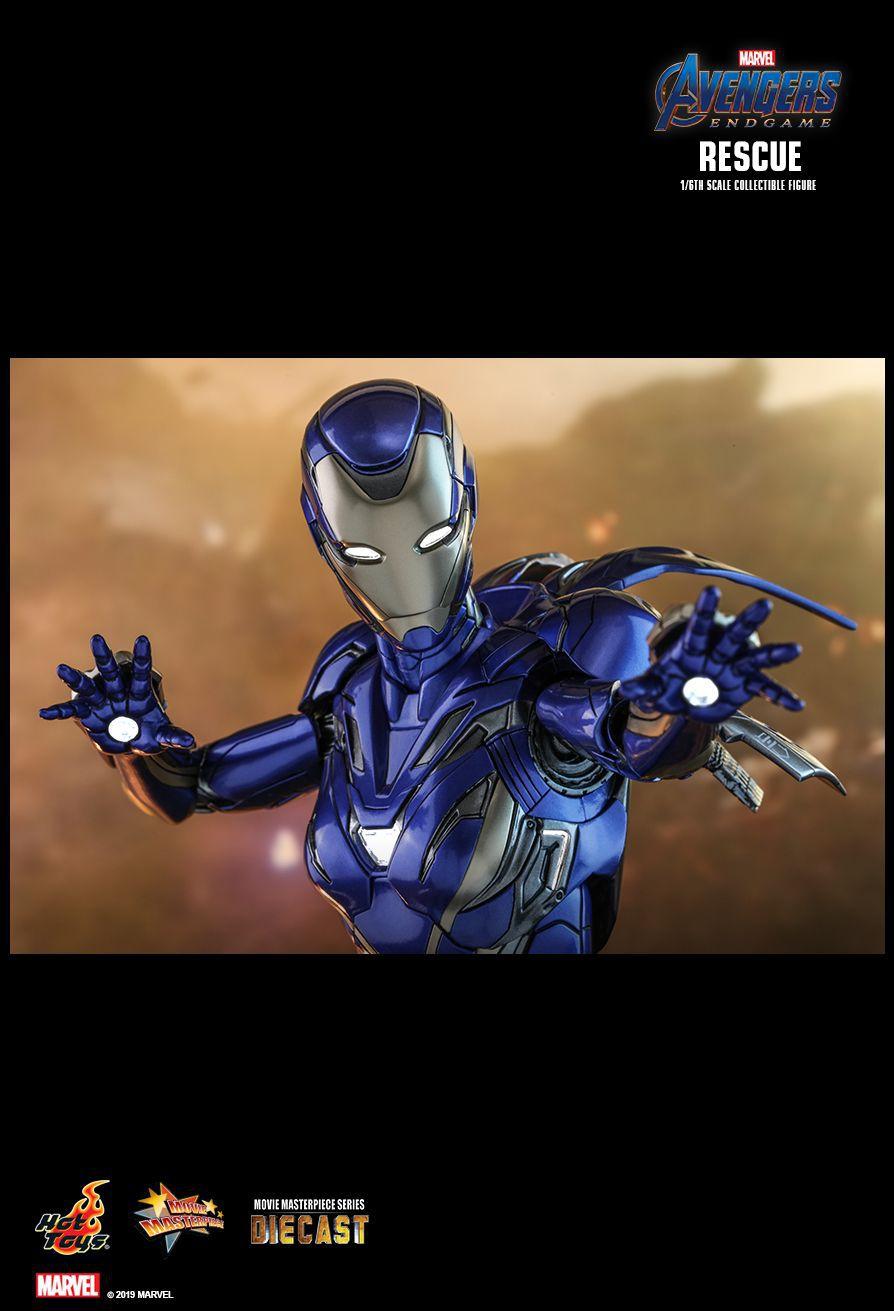 PRÉ VENDA: Action Figure Pepper Potts (Rescue Suit): Vingadores Ultimato (Avengers Endgame) (MMS538 D32) Escala 1/6 (Boneco Colecionável) - Hot Toys