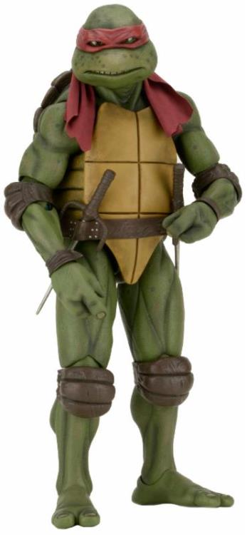 Action Figure Raphael: Tartarugas Ninja (Teenage Mutant Ninja Turtles 1990) Escala 1/4 (Boneco Colecionável) - NECA (Apenas Venda Online)