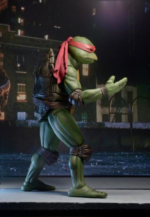 Action Figure Raphael: Tartarugas Ninja (Teenage Mutant Ninja Turtles 1990) Escala 1/4 (Boneco Colecionável) - NECA (Apenas Venda Online)