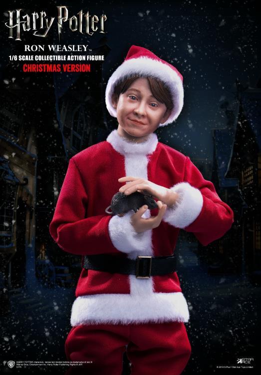 PRÉ VENDA: Action Figure Ron Weasley: Harry Potter e a Pedra Filosofal (Sorcerer's Stone) Christmas Ver. (Escala 1/6) - Star Ace