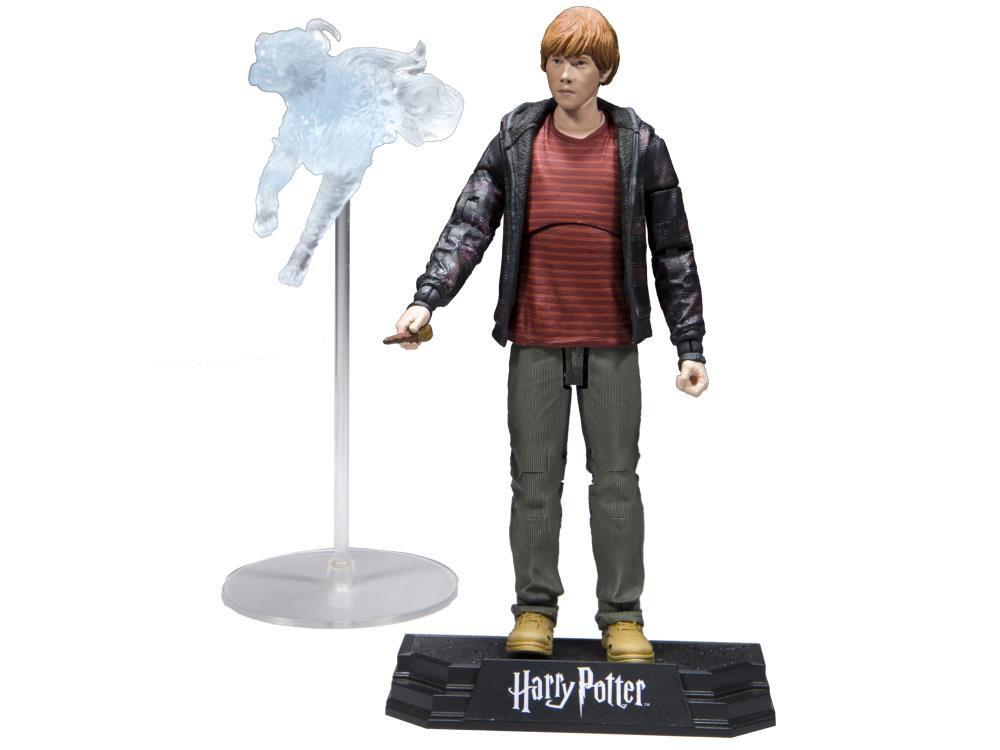 Action Figure Ron Weasley: Harry Potter e as Relíquias da Morte (Deathly Hallows) (Boneco Colecionável) - McFarlane