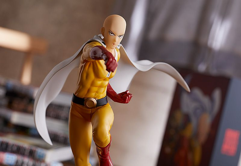 PRÉ VENDA Action Figure Saitama: One-Punch Man (Hero Costume Version) Boneco Colecionável - Good Smile Company