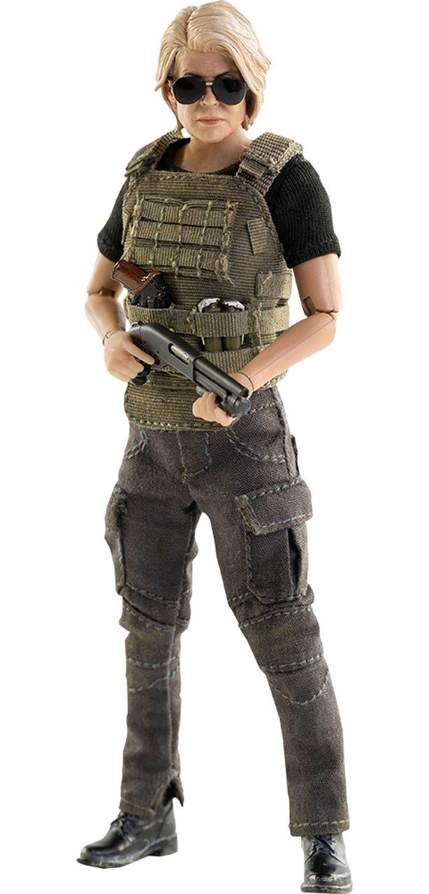 PRÉ VENDA: Action Figure Sarah Connor: O Exterminador do Futuro Destino Sombrio (Terminator: Dark Fate) Escala 1/12 - Threezero