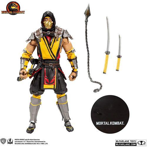 "PRÉ VENDA Action Figure Scorpion 7"": Mortal Kombat XI (MKXI) - Boneco Colecionável - Mcfarlane Toys"