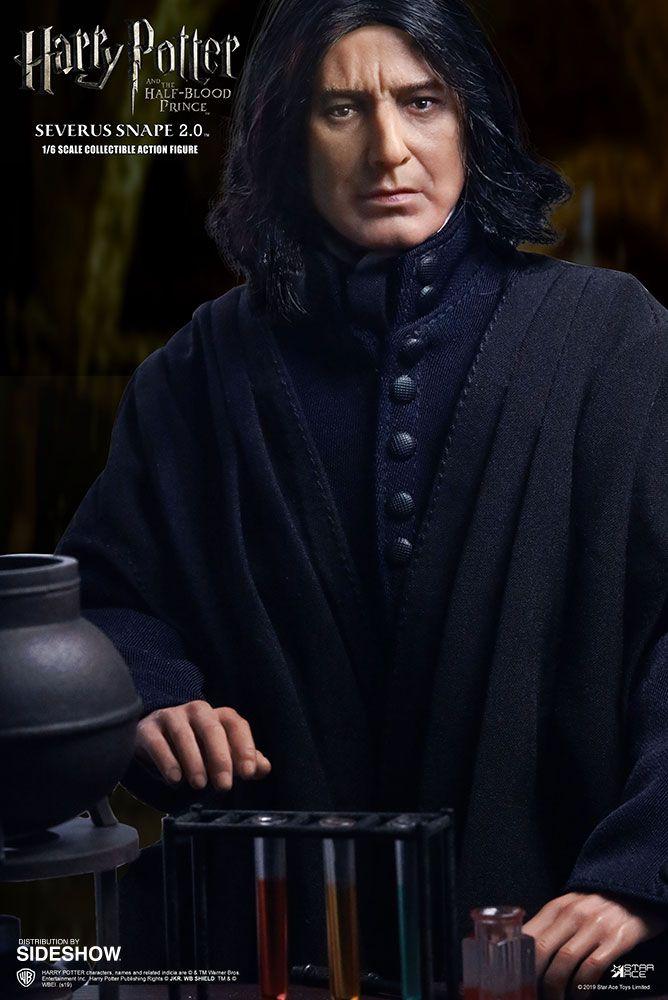 PRÉ VENDA: Action Figure Severus Snape: Harry Potter e o Enigma do Príncipe (and the Half-Blood Prince) Boneco Colecionável (Escala 1/6) - Star Ace