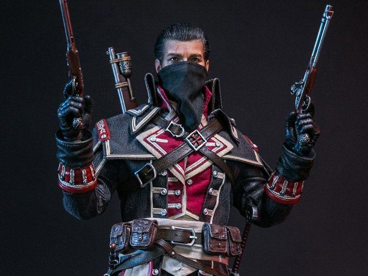 PRÉ VENDA: Action Figure Shay Patrick Cormac: Assassin's Creed Rogue (Escala 1/6) Boneco Colecionável - Damtoys
