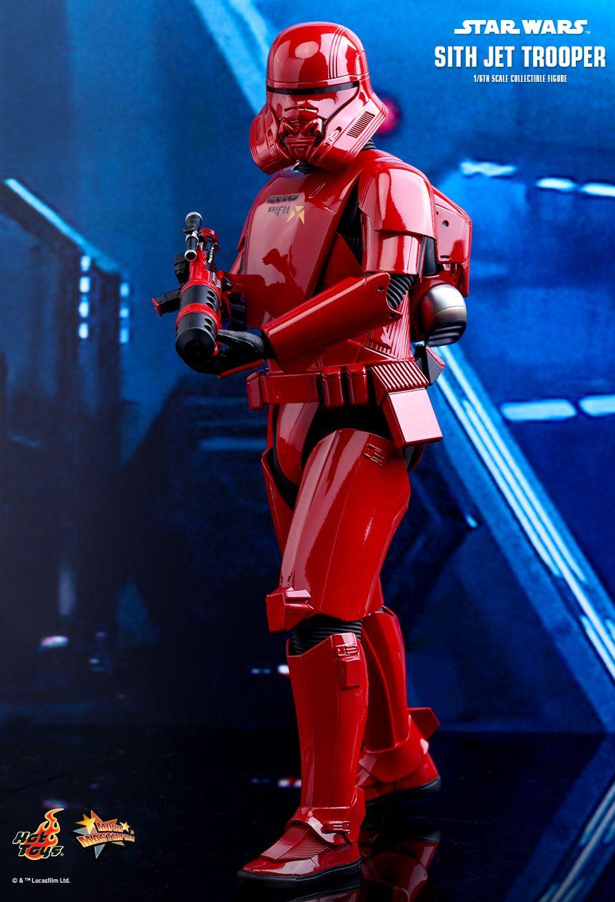 PRÉ VENDA: Action Figure Sith Jet Trooper: Star Wars A Ascensão Skywalker (The Rise of Skywalker) MMS562 (Escala 1/6) - Hot Toys