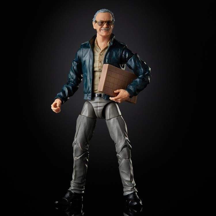PRÉ VENDA: Action Figure Stan Lee: Marvel Legends (80th Anniversary) Boneco Colecionável - Hasbro