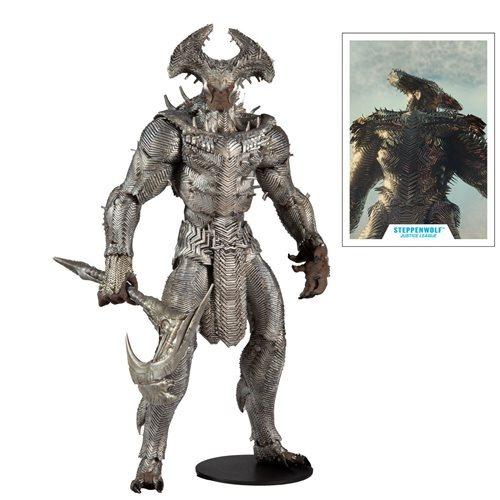 PRÉ VENDA: Action Figure Steppenwolf Lobo da Estepe Liga da Justiça de Zack Snyder DC Comics Multiverse - McFarlene Toys