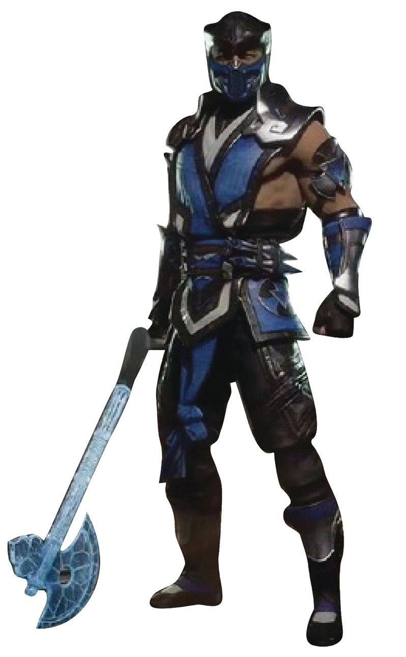 "PRÉ VENDA Action Figure Sub-Zero 7"": Mortal Kombat XI (MKXI) - Boneco Colecionável - Mcfarlane Toys"