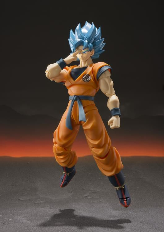 Action Figure Super Saiyan God Super Saiyan Son Goku: Dragon Ball Super (S.H.Figuarts) - Boneco Colecionável - Bandai