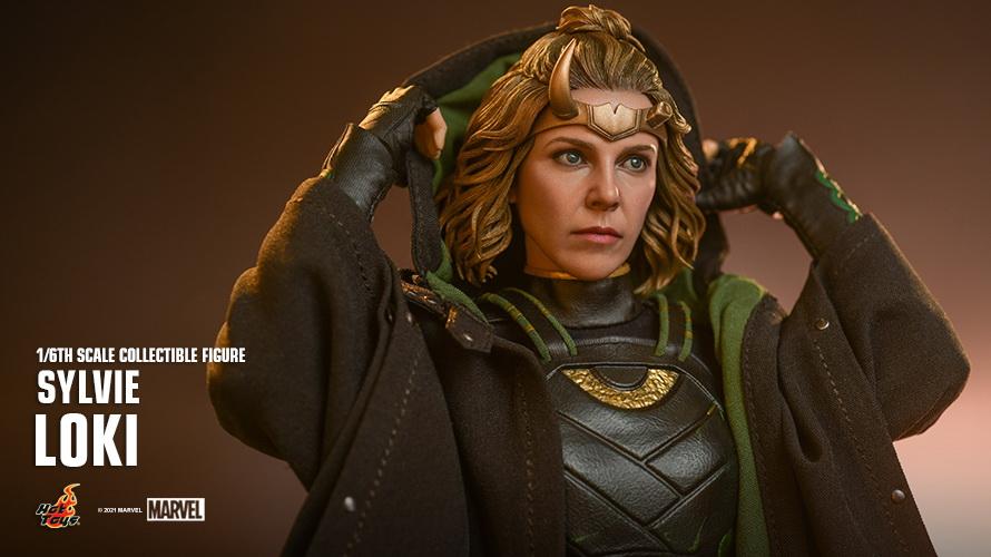 PRÉ VENDA: Action Figure Sylvie: Loki Escala 1/6 Marvel Studios Disney + - Hot Toys