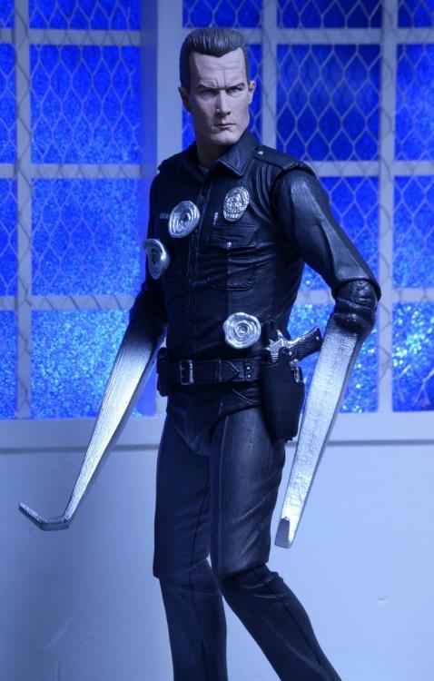 """PRÉ VENDA: Action Figure T-1000 7"""": O Exterminador do Futuro 2 O Julgamento Final (Terminator 2: Judgment Day) - NECA"""